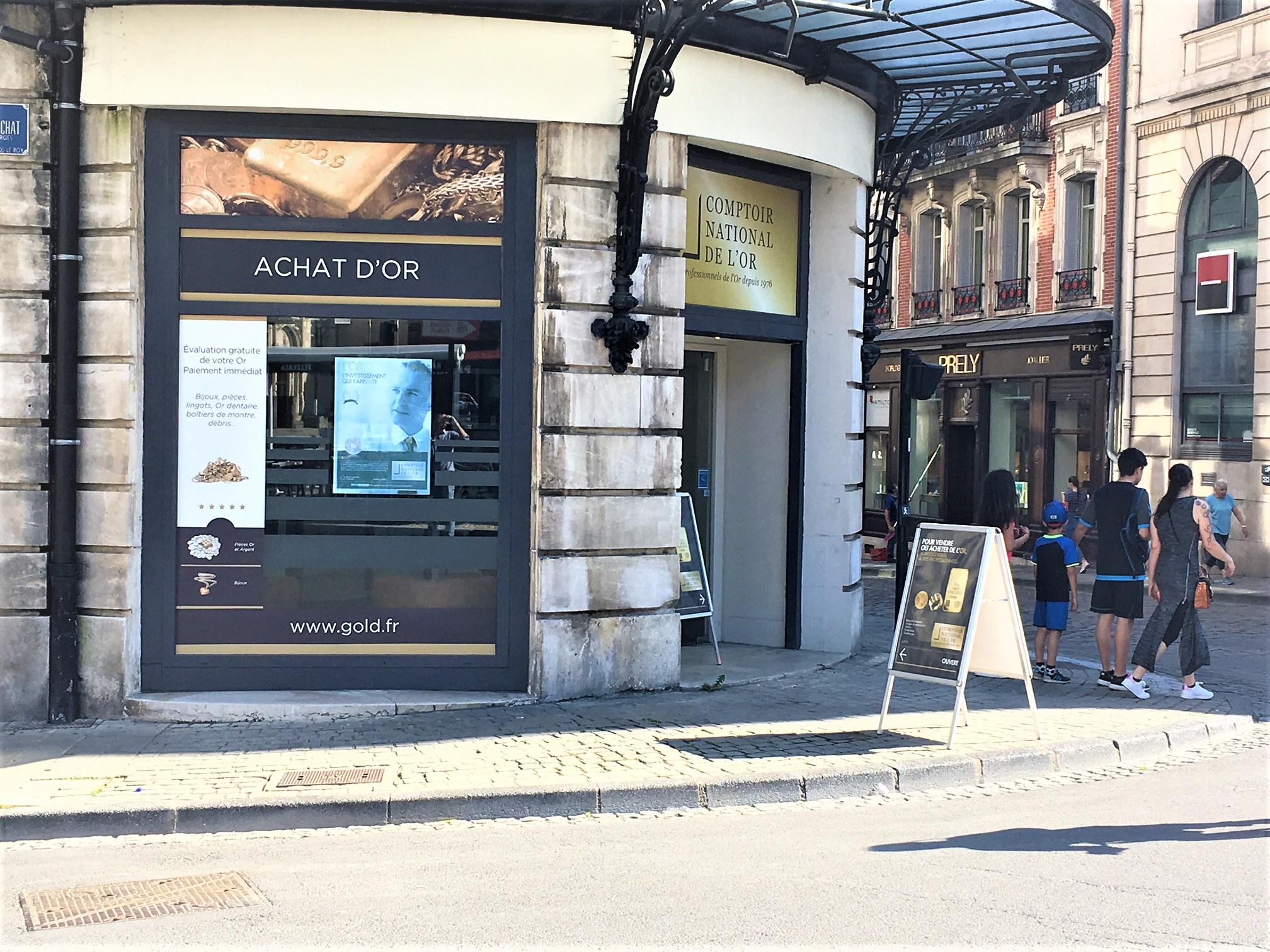 Galerie d'image - Comptoir National de l'Or - Agence de Bourges - SARL SELENIA