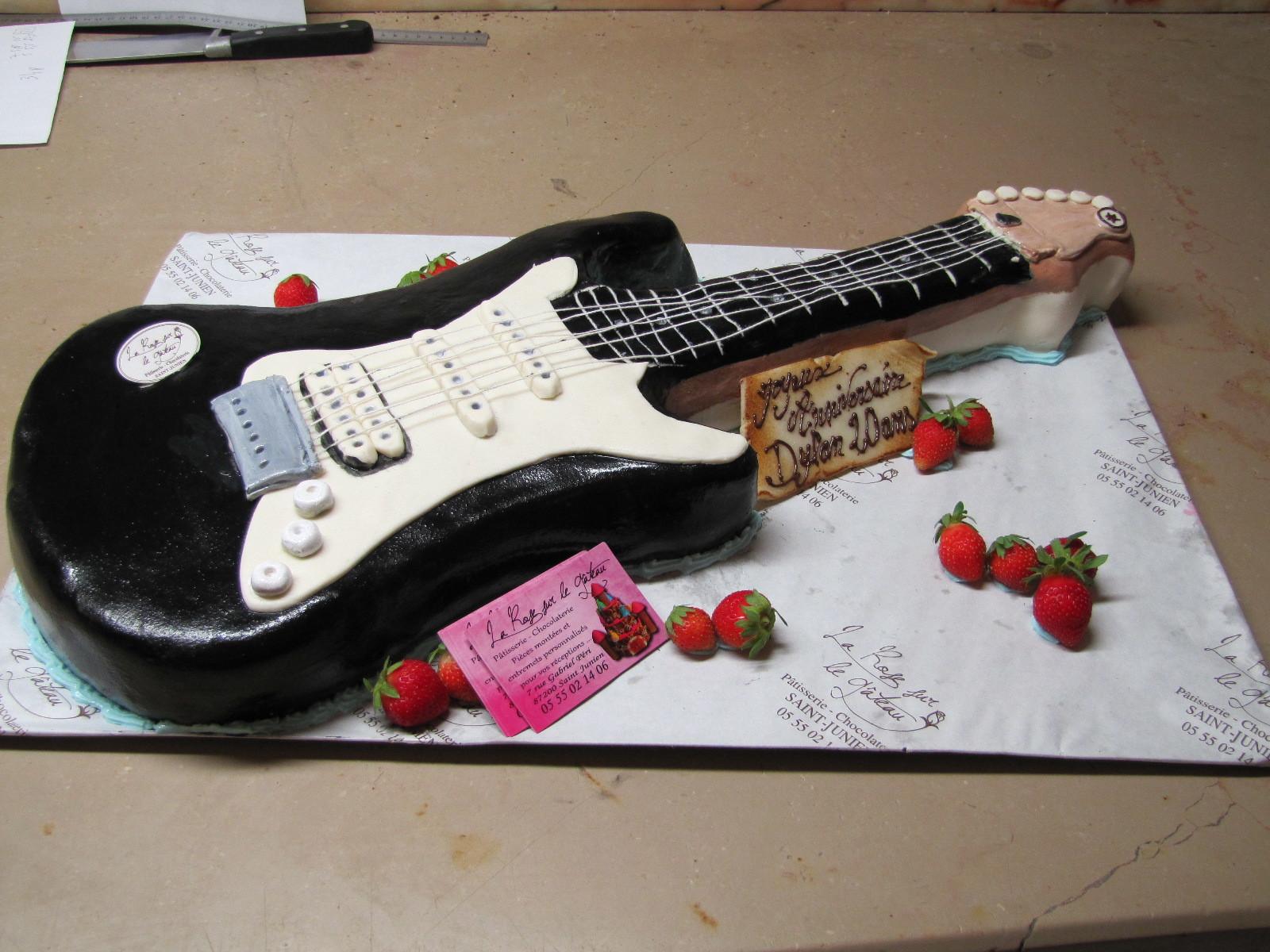Galerie d'image - la Rose sur le Gâteau