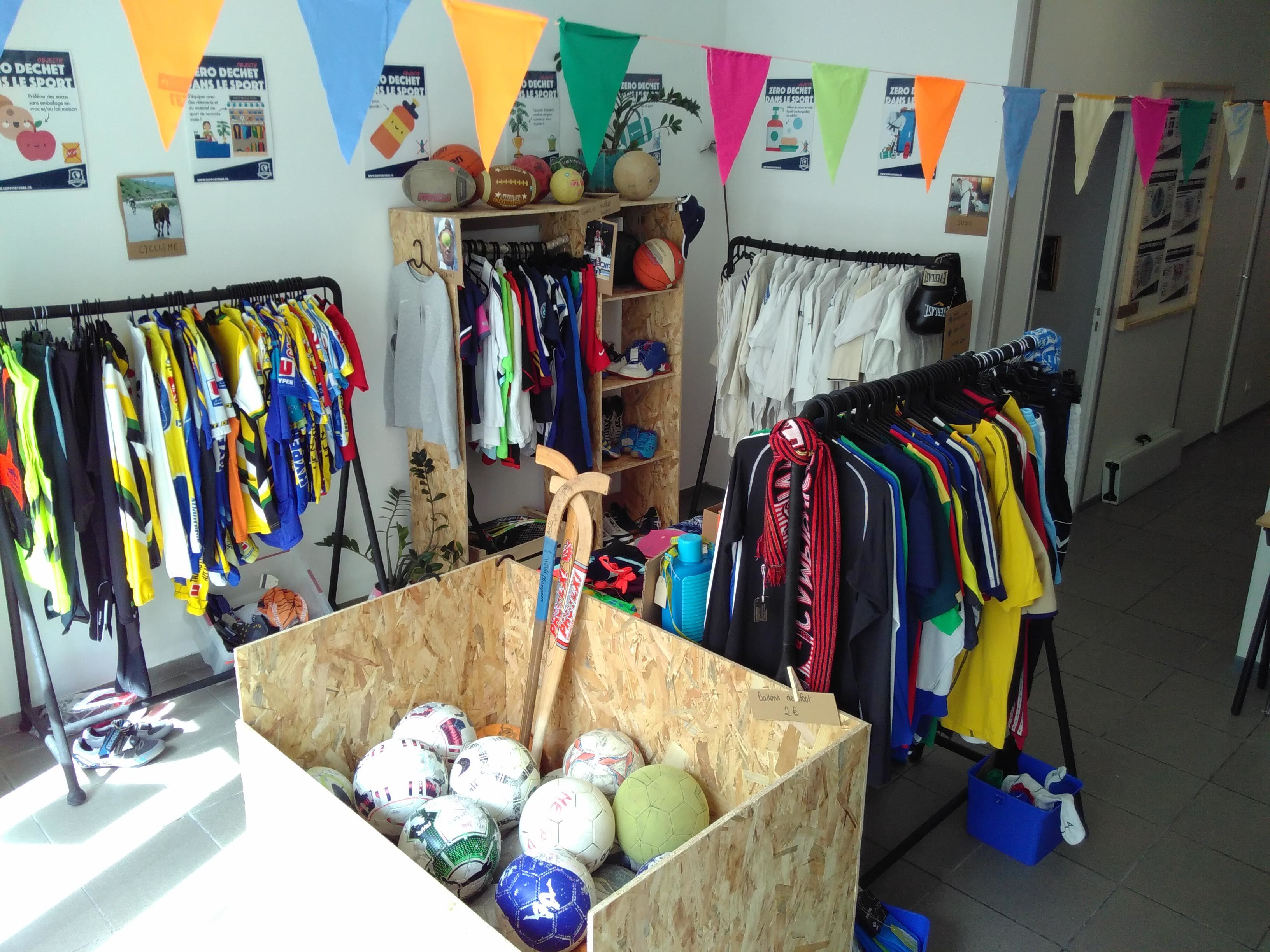 Galerie d'image - Recyclerie du sport - SupporTerre