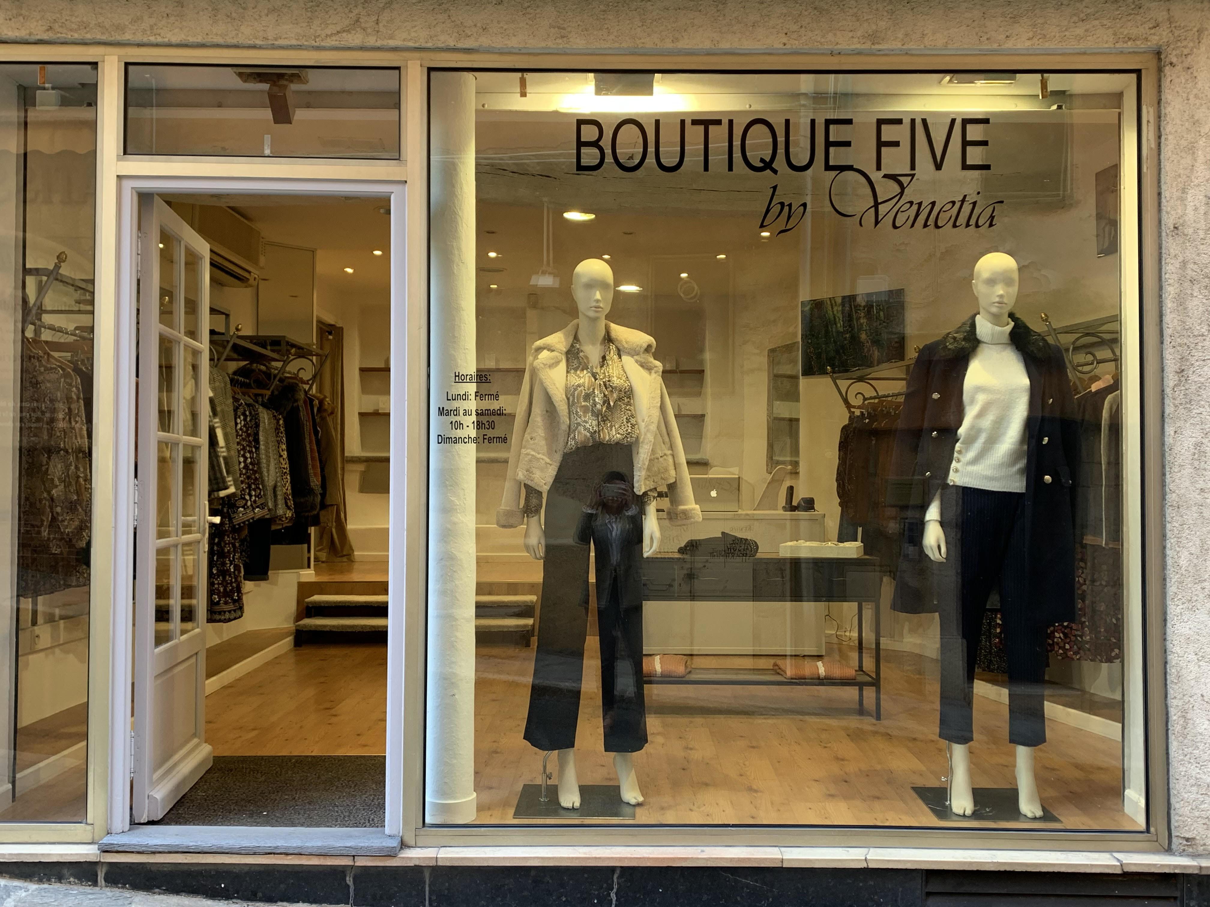 Galerie d'image - Boutique FIve