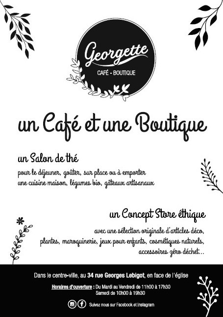 Galerie d'image - Georgette Café Boutique