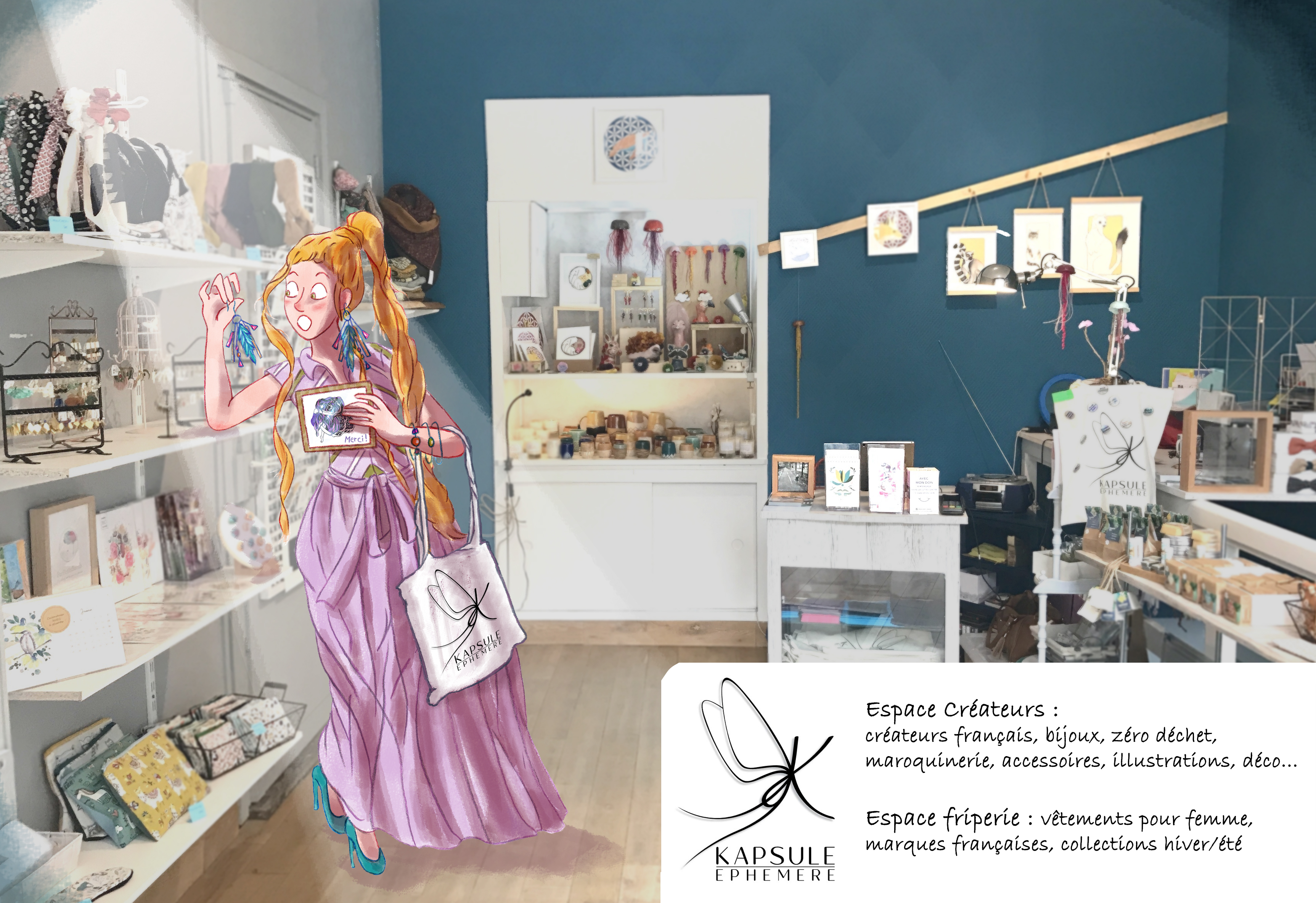 Galerie d'image - Kapsule Ephemere