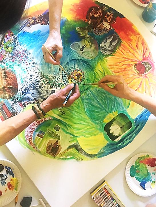 Galerie d'image - En Vie de Couleurs - Art-thérapie et Ateliers créatifs