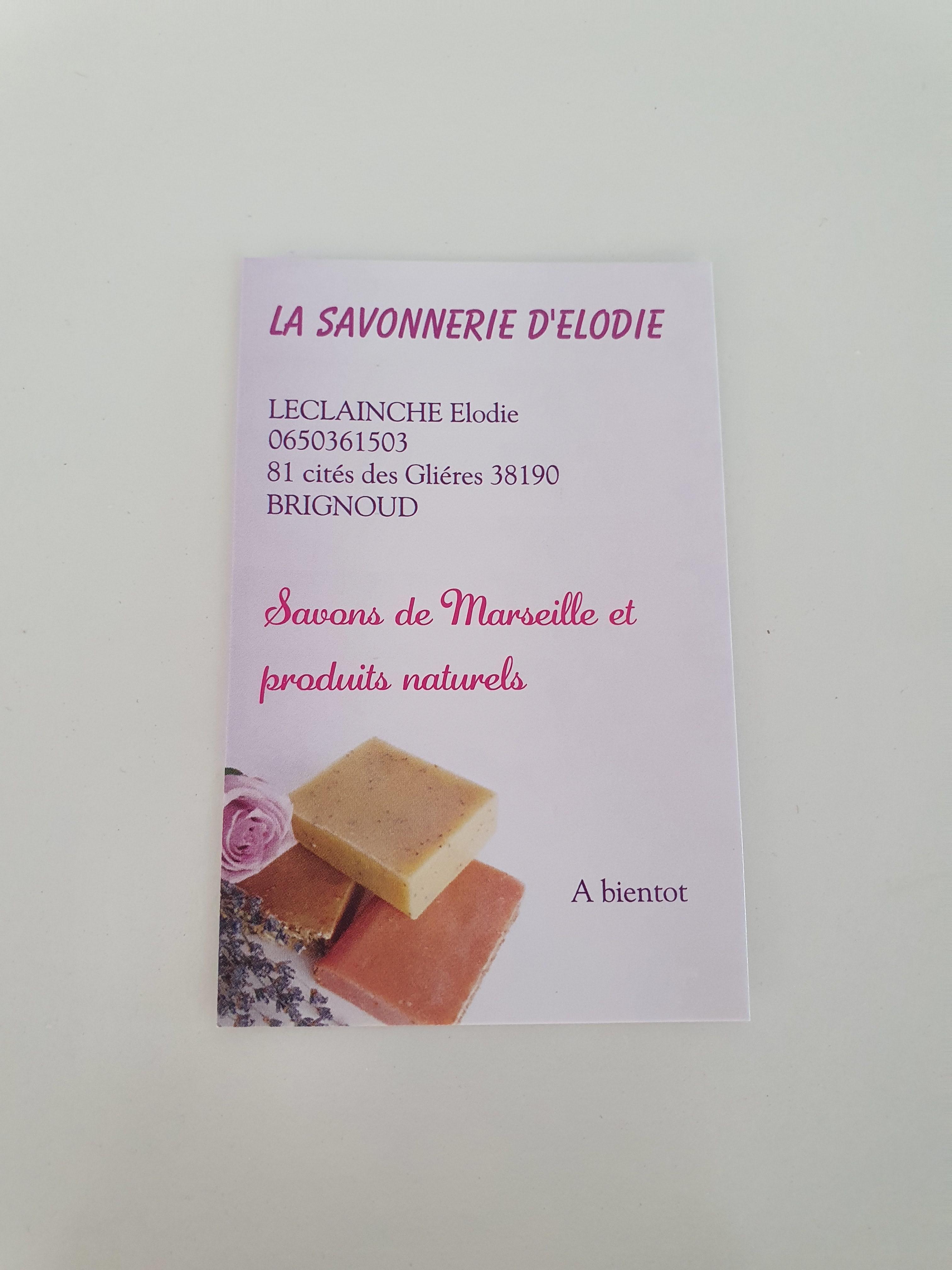 Galerie d'image - La savonnerie d'Elodie