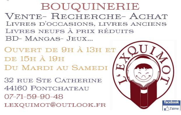 Galerie d'image - Bouquinerie L'EXQUIMOT