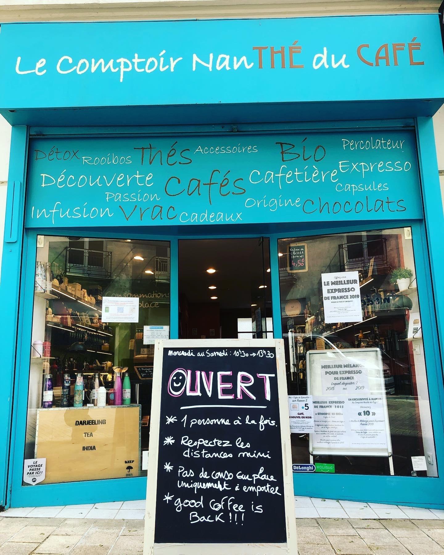 Galerie d'image - Le Comptoir Nanthé du Café