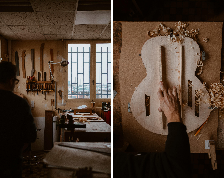 Galerie d'image - La lutherie de Patrice Blanc