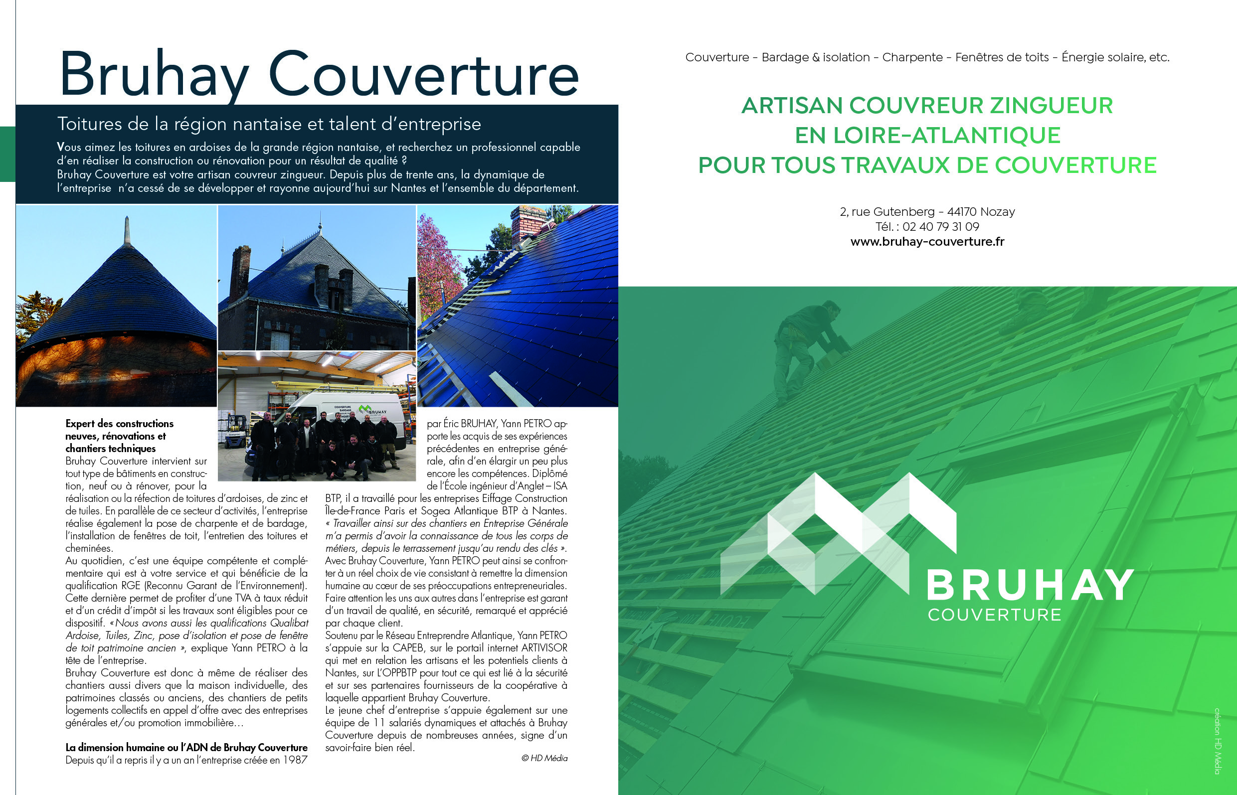 Galerie d'image - SARL BRUHAY COUVERTURE