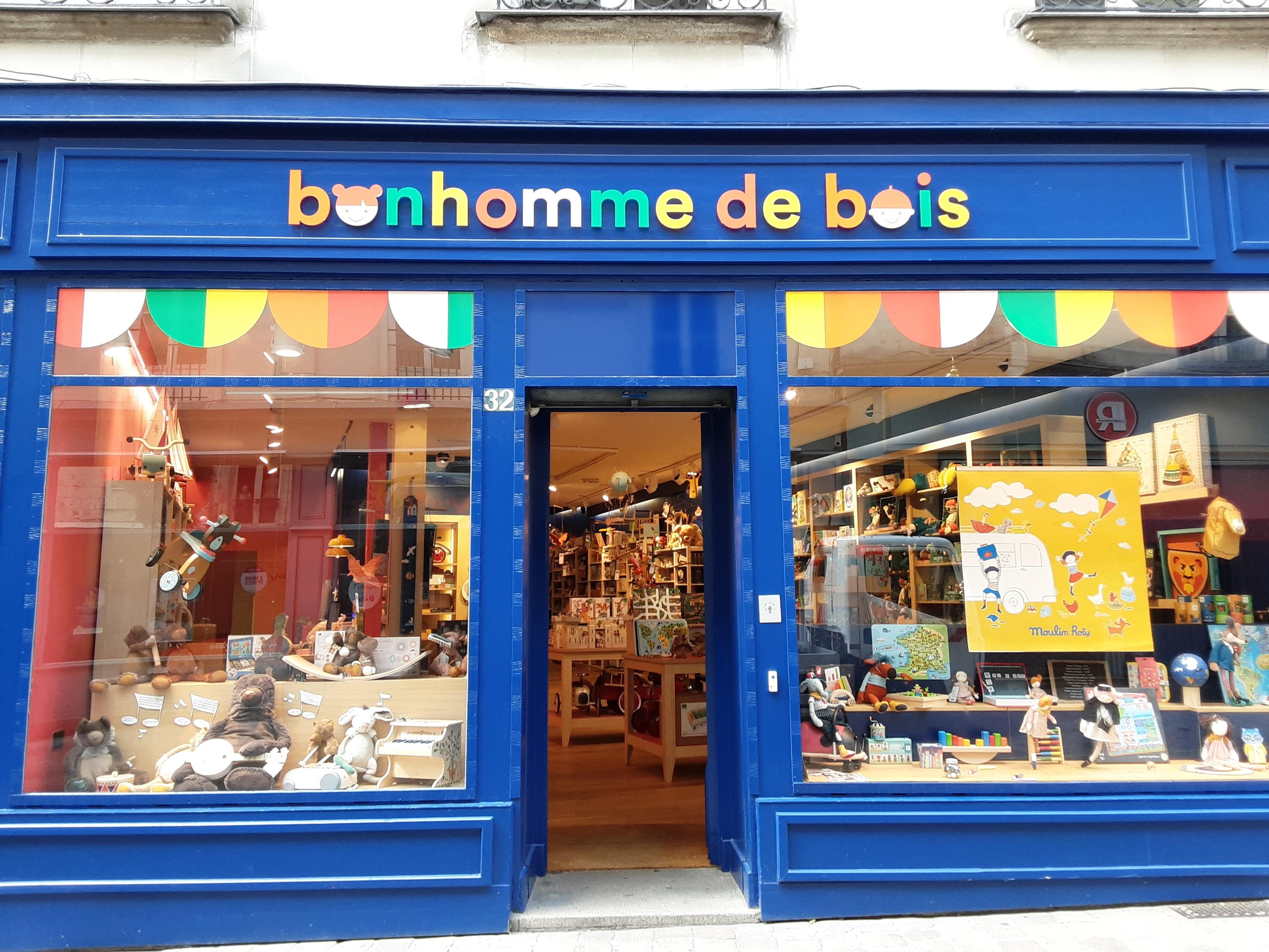 Galerie d'image - Bonhomme De Bois