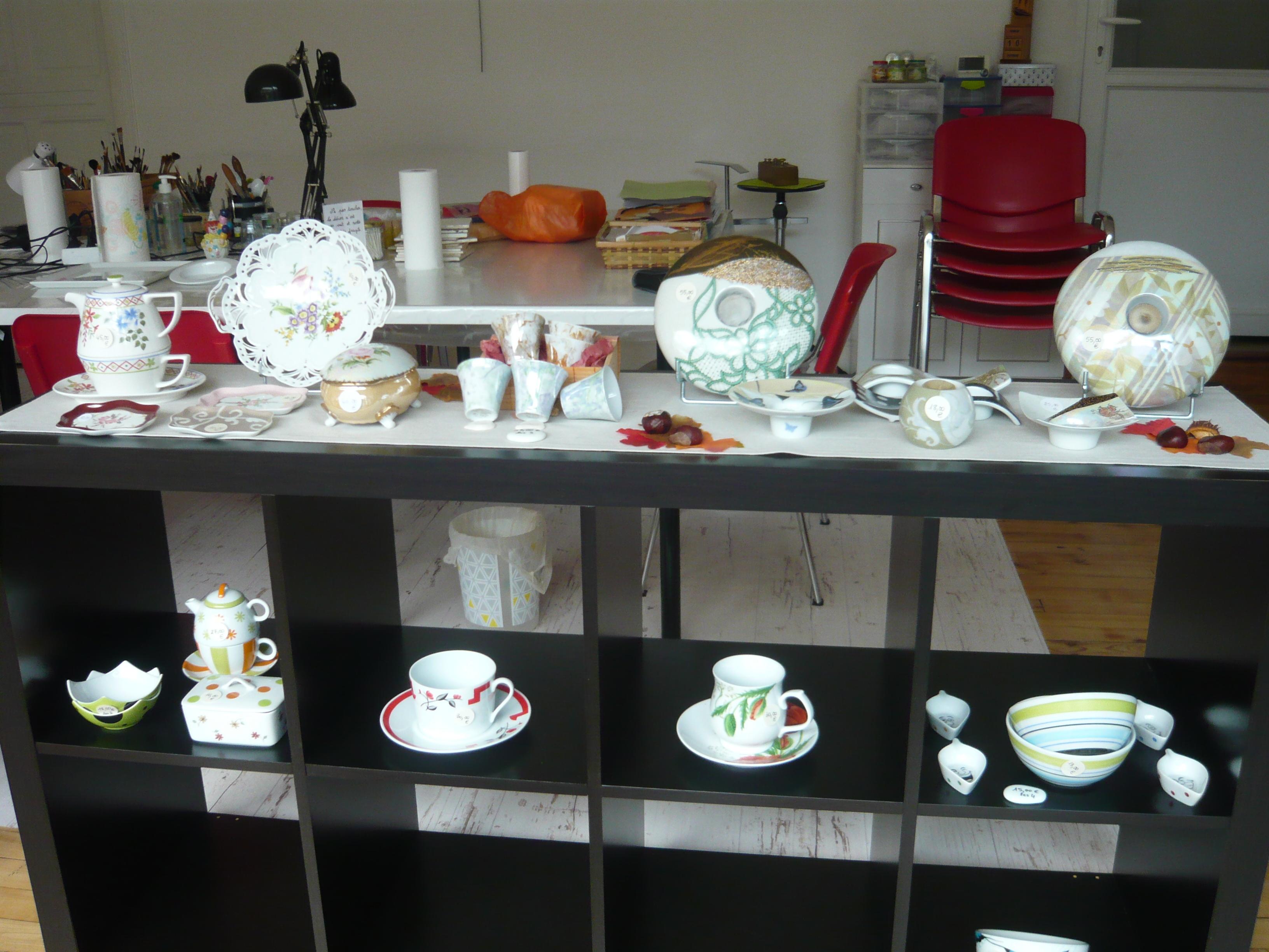 Galerie d'image - Porcelainement-votre